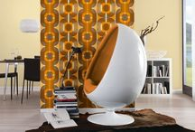 Retro Wallpapers / A selection of retro style wallpapers inspired by designs and colours from the 1960s and 70s.