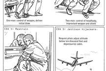 Skills to take out a hijacker