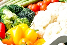 fruits and vegetables to eat as well as to look at