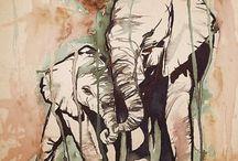 animals | elephants! / by Andrea Reed