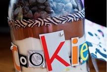 jar/milk bottle ideas for craft sales / gifts