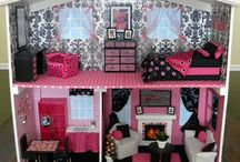 Barbie house self made
