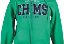 Vintage Applique / Made popular in such stores as Abercrombie & Fitch, Hollister and American Eagle, vintage appliqué is one of the hottest, most recognized fashion trends in logo apparel. Now you can create the same look for your school!