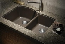 SINKS / Sinks available thru Northwest Building Supply. Blanco, Eclipse Stainless and Novatto.