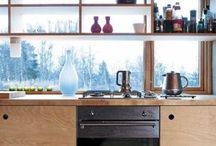I.D. // KITCHEN in PLYWOOD / Inspirations in KITCHEN made from plywood.