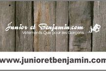 JUNIOR ET BENJAMIN / MODE ENFANT