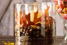 fall decorating / by Brenda Peterson-Pointere