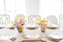 * gatherings and flowers / unofficially all about flowers and food. / by Diana =)