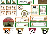 Camping classroom theme / by Ashley Regier