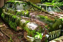 Abandoned / Buildings & Vehicles