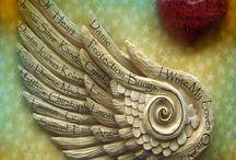 Nas asas dos anjos