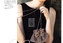 VintAge crochet handbag,,,