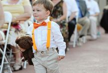 Adorable flowergirl and ringbearers