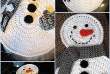 привет снеговик