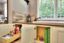 Rustic Master Suite / By adding 3 feet on the rear of a South St. Louis County, MO home, the couple has a rustically elegant master suite. Another Mosby Building Arts design-build project!
