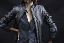 Cool women's clothes / I love a bit of formal punk-ish, rock-like, gangsta-chic style on women.