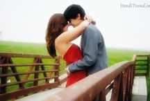 Love Shayari / Beautiful Love Shayari for girlfriend boyfriend, cute love sms in hindi for her/him with lovely couple images at https://hinditrend.in/sms/love-shayari/