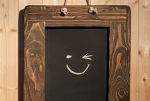 chalkboards handmade by Marc Wood Joinery in Somerset / our solid wooden frame chalkboards are available on Etsy UK, designed & handmade by Marc Wood and our small team in Somerset.  Prices from £35, we use reclaimed & eco friendly wood. UK wide courier options.