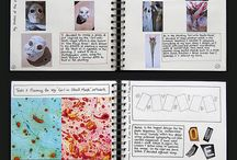 Sketchbook pages project
