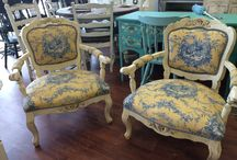 My Shabby Chic Chairs / This is the board where I post the chairs I have painted shabby chic.