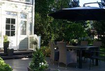 Puutarha, takapiha ja patio