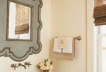 bathrooms/mirrors / by Lisa Johnson