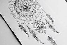 mandala compass
