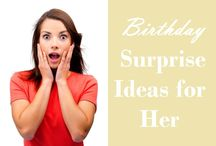 Birthday Party Ideas / It's one stop destination for all those who are interested to find some of the amazing, unique and creative birthday Party ideas.