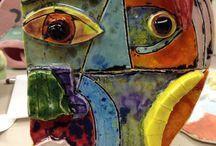 Artist Picasso in Elementary Art / by Artist Parson