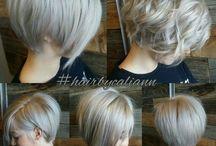 Асимметричные волосы