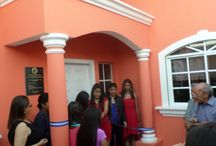 """Transiton Home / We are excited to announce the inauguration of the new transition home for girls, """"Casa Santa Maria"""".  Casa Santa Maria will be a home for girls from Nuevo Paraiso and Pedro Atala.  Thanks to the support of their sponsors they have graduated high school and are beginning their transition out of the project."""