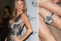 Celebrity Engagement Rings / Be inspired by these stunning celebrity engagement rings with similar pieces from Hatton Jewels