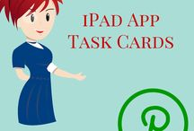 iPad App Task Cards / Different task cards for awesome apps