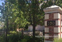 NORTH MORRISON HOUSE / FALGARWOOD - 390 Upper Middle Road, Oakville, Ontario Canada $650K - $1,000,000K