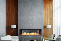 Fireplaces / by Linda