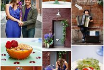 NotWedding Romantic Dinner Proposal Street Shoot / by Modern Wedding Photography
