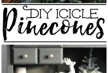 Winter / Decoration ideas for when it's no longer Christmas but you still want to stay in season.