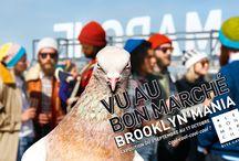 Brooklyn Rive Gauche / Du 3 septembre au 17 octobre, Brooklyn s'invite Rive Gauche. Toujours en avance sur les tendances, Le Bon Marché a été séduit par la créativité et l'audace de ce district new-yorkais qui fait face à l'île de Manhattan. Mode, beauté, accessoires, enfant, déco, design, gastronomie, une centaine de marques ont traversé l'Atlantique pour se poser au Bon Marché et à La Grande Épicerie le temps d'un automne.