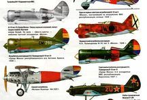 WW II aircraft coloring