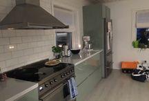 Mitt kök / Modern Country Kitchen Smeg Ikea BerryAlloc Nordsjö Scandinavian Eames Ethnicraft