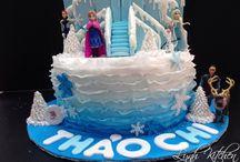 Elsa Anna Frozen Cakes Ideas