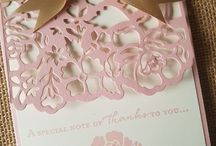 Detailed floral thinlet cards