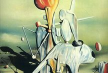 Yves Tanguy / Raymond Georges Yves Tanguy (January 5, 1900 – January 15, 1955), known as Yves Tanguy, was a French surrealist painter.