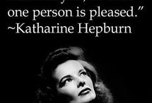 The Love Quotes Celebrity Quotes : Love her. Can you be a better actor than Katherine Hepburn? No, sorry you cant. …