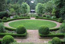 газон круг