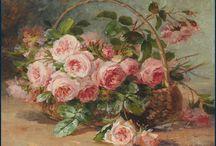 tablo çiçek