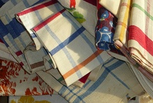 Linen tea towels and things