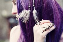 "ROCKINDA"" PURPLE HAIR!!! / by Shawnie Bradshaw"
