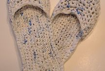 plastic bag crochet / random stuff