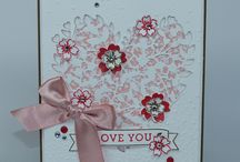 Stampin' Up! - love/wedding/anniversary/mother's day
